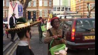 Purim in Stamford Hill 2009 Part 2