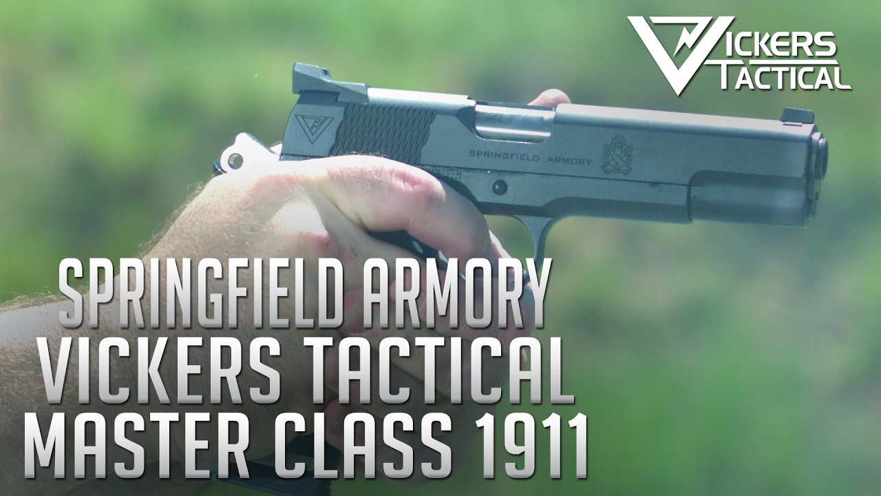 Springfield Armory Vickers Tactical Master Class 1911