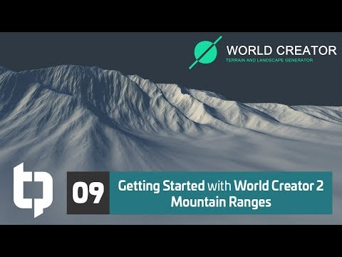 09 | Getting Started with World Creator 2 | Mountains Pt. 1