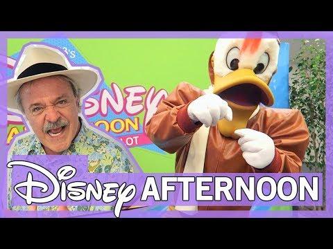 Meeting Rare Characters - LaunchPad, Darkwing Duck (Jim Cummings) & Goofy (Bill Farmer)