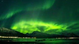 لقطات مذهلة للشفق القطبي من النرويج (فيديو)