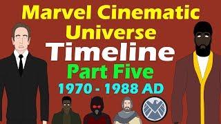 Marvel Cinematic Universe: Timeline (Part 5 - UPDATED)