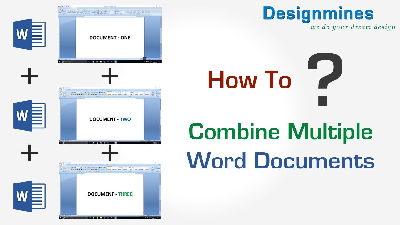 how to combine multiple document in word how to combine multiple document in word