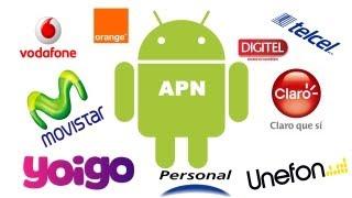Configurar Datos Moviles 3G/4G en Android