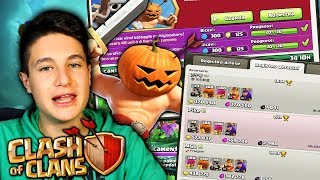 TROPPE RISORSE E GEMME GRATIS! Speciale Halloween Clash of Clans