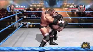 WWE Allstars - Undertaker vs Triple H No Holds Barred