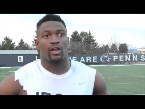 Penn State football: Jason Cabinda talks about fighting for middle LB position