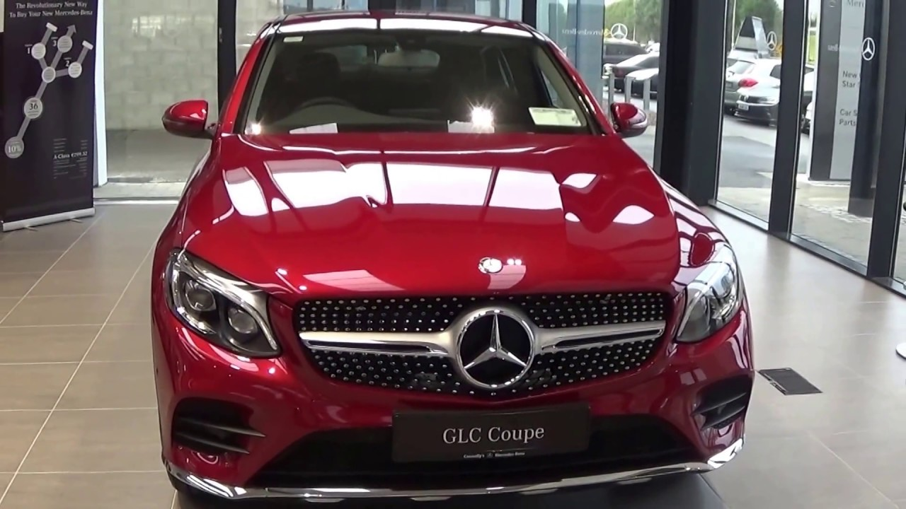 cmg mercedes benz sligo new 2017 mercedes benz glc 220d coupe 4matic amg sport review youtube. Black Bedroom Furniture Sets. Home Design Ideas