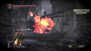 Dark Souls II - How to use the Ashen Mist Heart (Soul of a Giant) - Memory of Vammer