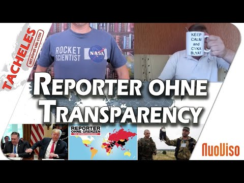 Reporter ohne Transparency - Tacheles #9