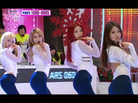 【TVPP】AOA - Confused (Jeans ver.), 에이오에이 - 흔들려 @ Big Love with Small Sharing
