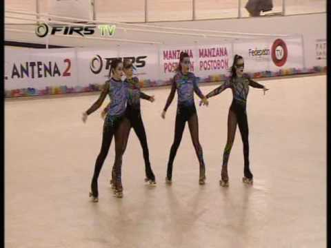 Team USA 2015 World Roller Skating Championships Quartet