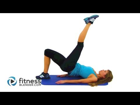 10 Minute Butt and Thigh Workouts at Home - Express Glute & Thigh Toning Routine