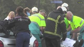 Politieauto betrokken bij ongeval in Uithoorn