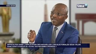 100% BENIN DU 18 03 19 / DIFFICULTES DANS L'APPLICATION DES NOUVELLES LOIS ELECTORALES SOUS TALON