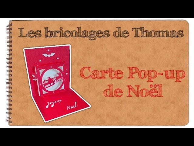 Kirigami Carte Pop Up De Noël Kirigami Template Youtube