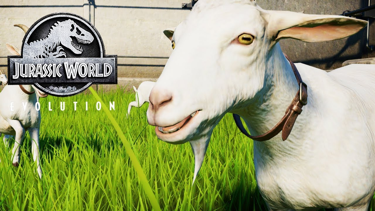 THE GOAT CHALLENGE | Jurassic World: Evolution Science