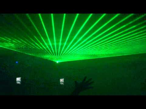 Fabric Nightclub @ London Laser Show