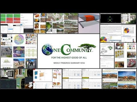 Raising Global Sustainability Consciousness - One Community Progress Update #256