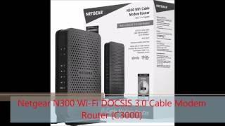 netgear n300 wi fi docsis 3 0 cable modem router