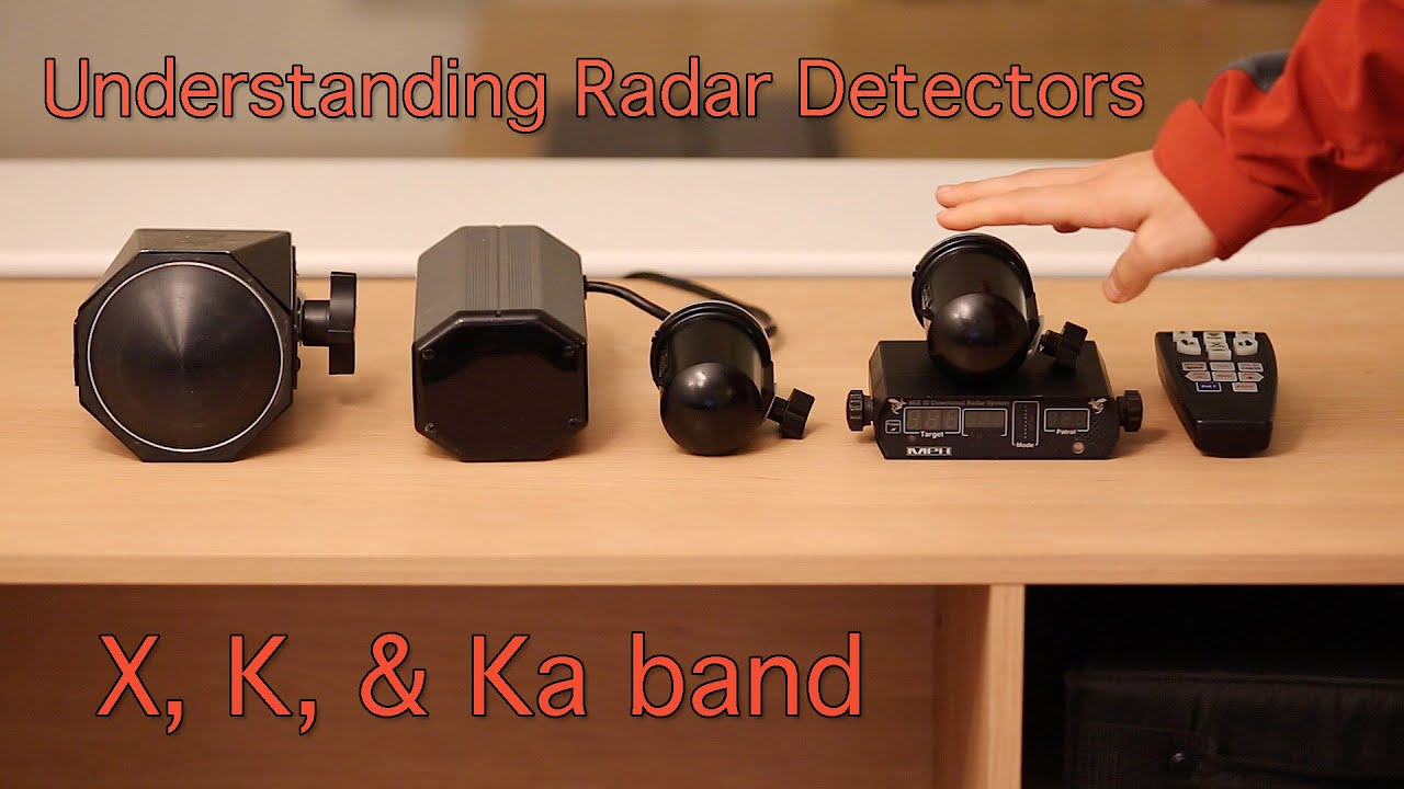 X, K, & Ka band: Understanding Radar Detectors - YouTube