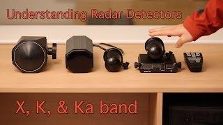 X, K, & Ka band: Understanding Radar Detectors