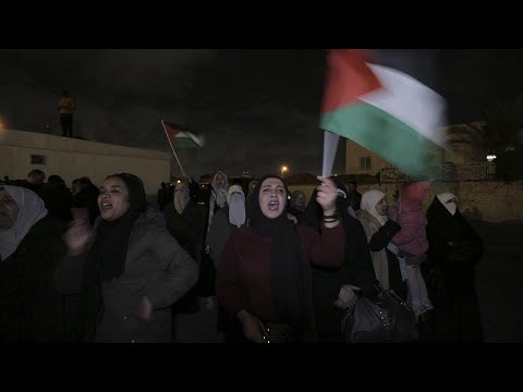 Протесты в Иордании против