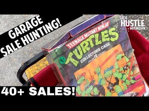 Community Garage Sale Live Sourcing | Yard Sale Finds For EBay