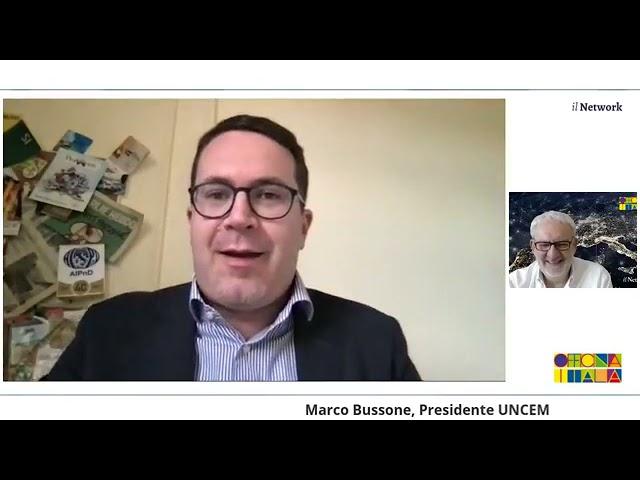 Il Network di Officina Italia_Marco Bussone  dialoga con Oscar Buonamano