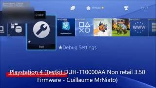 [PS3/PS4 DEX] Difference between PS3 & PS4 Debug Setting (PS4 DEX 3.50 & PS3 DEX OFW 4.78)