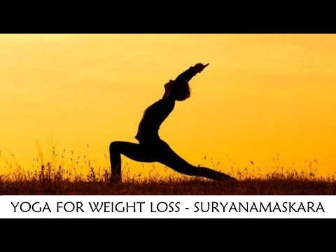 yoga for weight losssurya namaskara  youtube