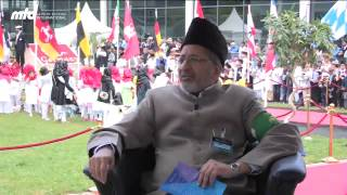 Interview with Haider Ali Zafar (Missionary In Charge Jamaat Germany) - Jalsa Salana Germany 2013