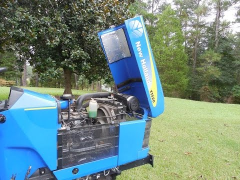 COMPACT TRACTOR  New Holland T1520