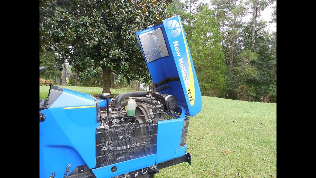 compact tractor new holland t1520 youtube yanmar fuel filter housing compact tractor new holland t1520 [ 1280 x 720 Pixel ]