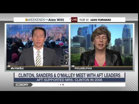 American Federation of Teachers endorses Hillary Clinton