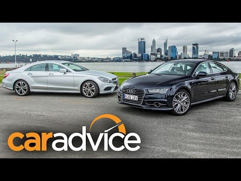 Audi A7 TDI Biturbo v Mercedes-Benz CLS 500 Review