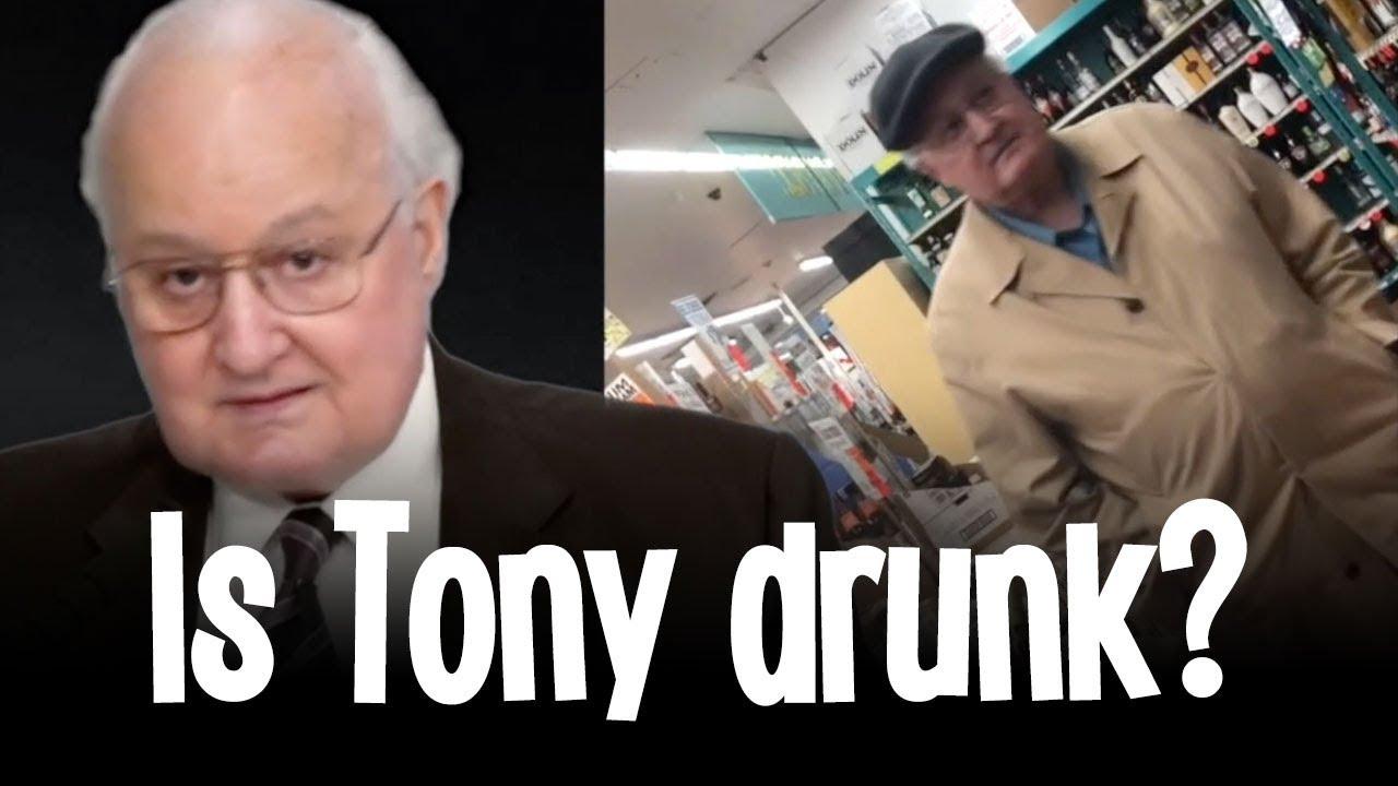 Is Tony drunk? (Please vote!)