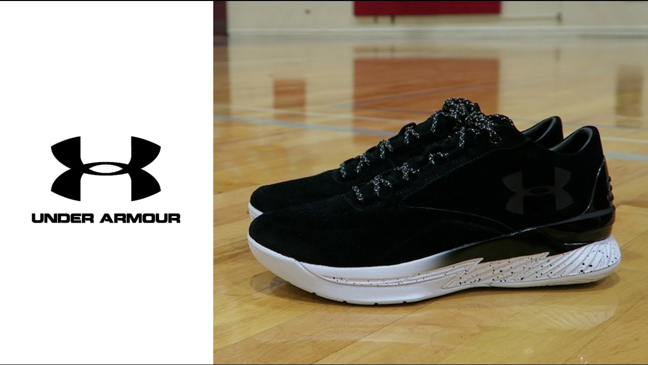 0aa7ee4ecbc6 Under Armour Curry 1 Low Lux Black  White - YouTube