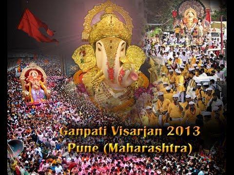 Ganesh Visarjan 2013 (Pune) - Part 1