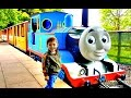 Thomas land train ride drayton manor amusement parkfor kids hd