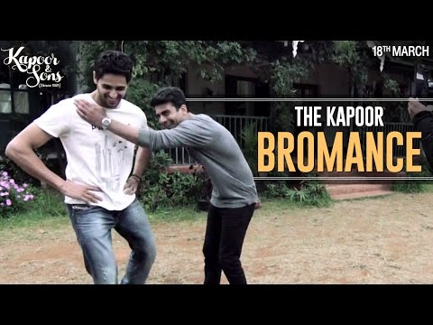 The Kapoor Bromance - Sidharth Malhotra & Fawad...