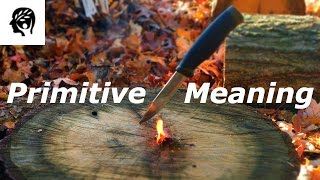 Primitive Community Definition