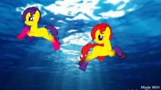 Пони клип :  золотыми рыбками :3