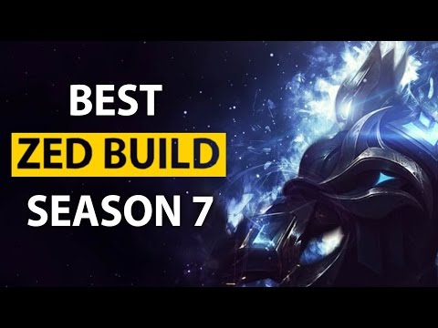 Ll Stylish Best Zed Na In Depth Build Path / Runes