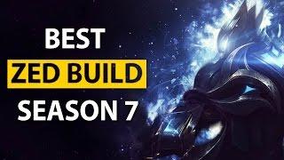 LL Stylish BEST ZED NA IN DEPTH BUILD PATH / RUNES / MASTERIES (SEASON 7)