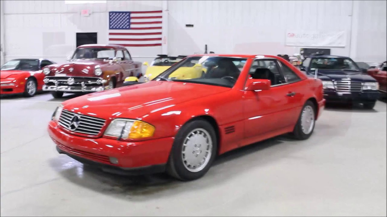 1991 Mercedes 300sl Tc