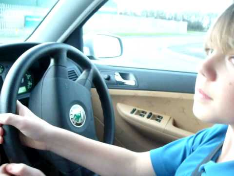 11 year old boy driving