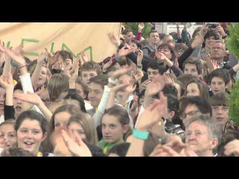 Flashmob im Rahmen der Messe FAIR HANDELN in Stuttgart