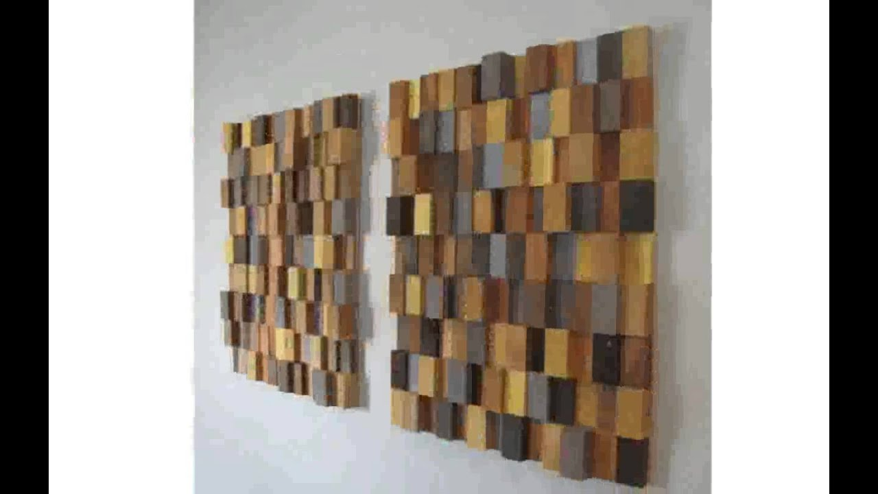 Wooden wall art youtube for Wooden art home decorations