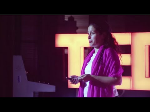 Can Art change the World? | Zena El Khalil | TEDxHyderabad